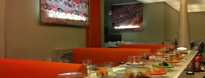 Oishii Sushi & Ramen is one of Ruta del tenedor Madrid.