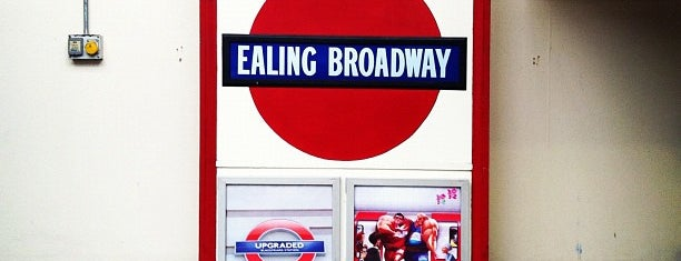 Ealing Broadway London Underground Station is one of Underground Stations in London.