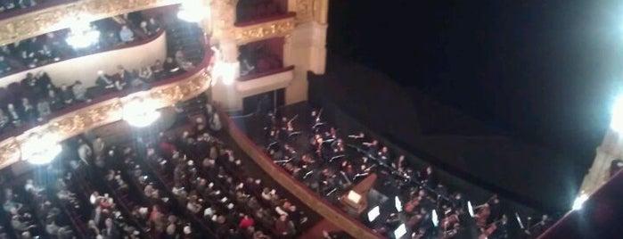 Gran Teatro del Liceo is one of Barcelona.