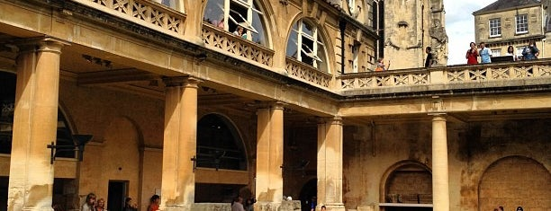 The Roman Baths is one of Oxford.