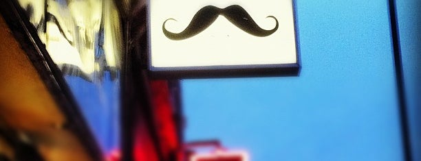 Moustache Bar is one of London drinking.