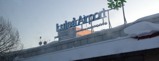 Luleå Airport (LLA) is one of Airports.