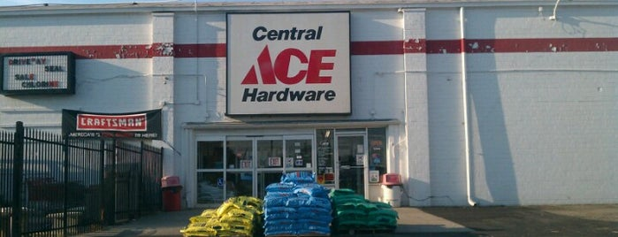 Central Ace Hardware is one of Places to DoItIndy.