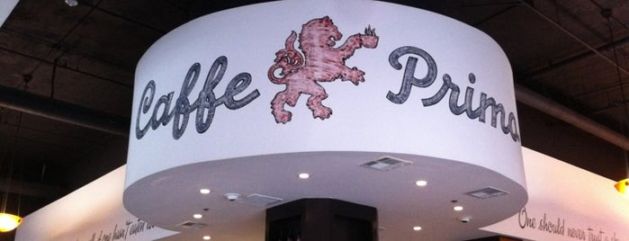 Caffe Primo is one of DTLA local digs.