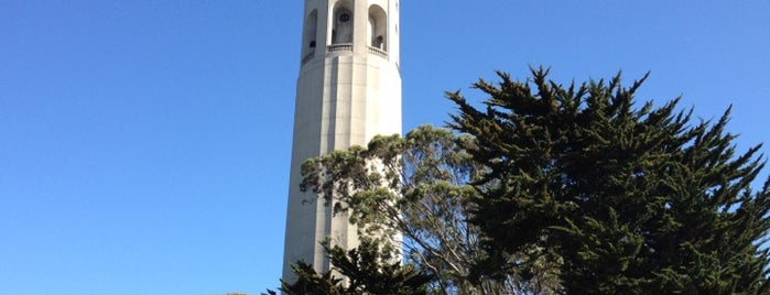 Coit Tower is one of 101 places to see in San Francisco before you die.