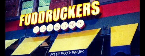 Fuddruckers is one of Lieux qui ont plu à Chris.
