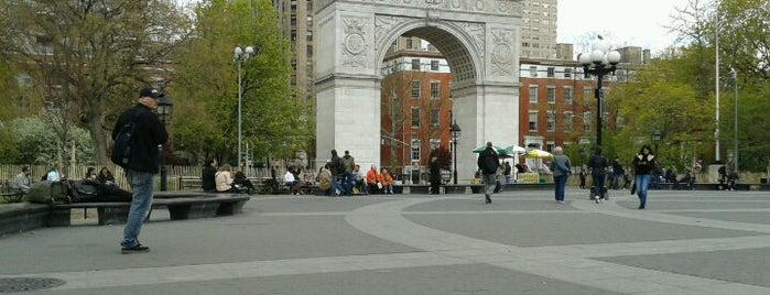 Washington Square Park is one of NYC.