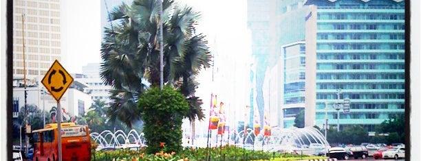 Halte TransJakarta Bundaran HI is one of 1 day grand indo, thamrin.