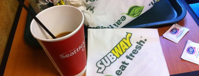 Subway is one of San Francisco!.