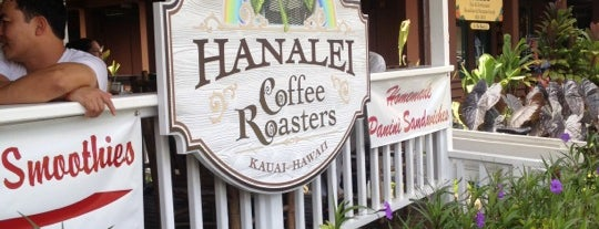 Hanalei Coffee Roasters is one of kauai.