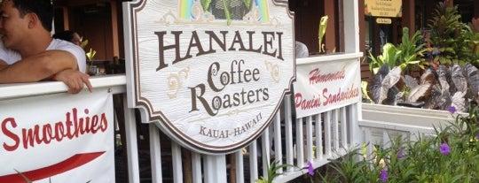 Hanalei Coffee Roasters is one of Kauai.