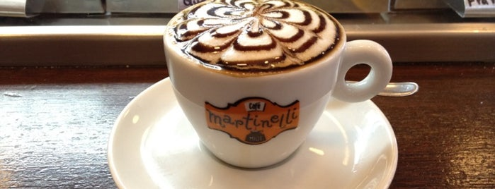 Café Martinelli Midi is one of Cafeterias.