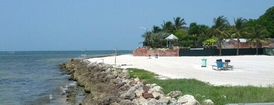 Higgs Memorial Beach is one of Key West.