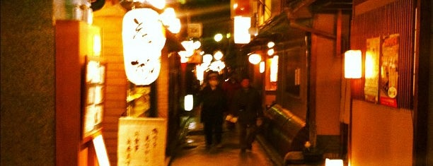 Pontocho is one of Kyoto.