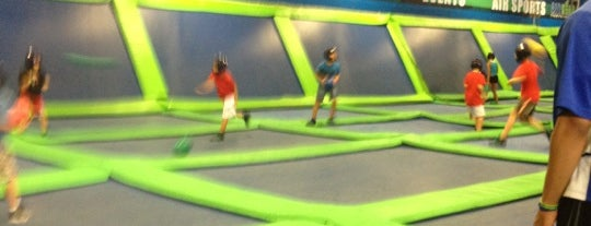 AirHeads Trampoline Arena is one of My Fun.