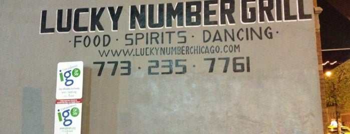 Lucky Number Grill is one of Karaoke spots.