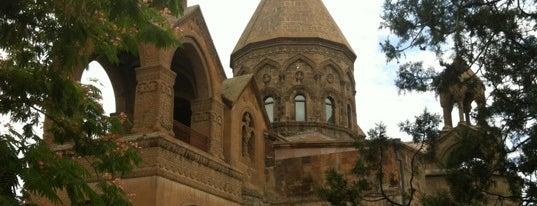 Echmiadzin | Էջմիածին is one of Locais curtidos por Garen.