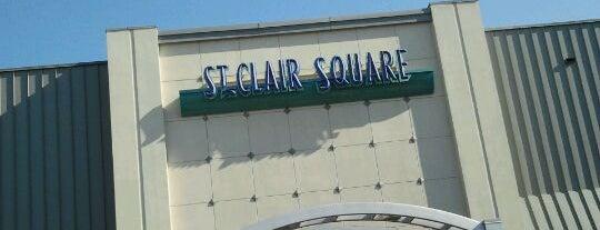 St. Clair Square Mall is one of สถานที่ที่ B David ถูกใจ.