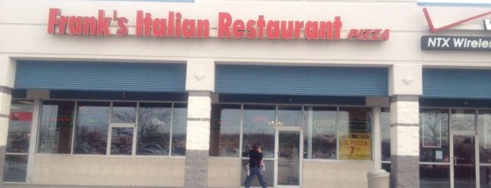 Frank's Pizza & Italian Restaurant is one of Posti che sono piaciuti a Chris.