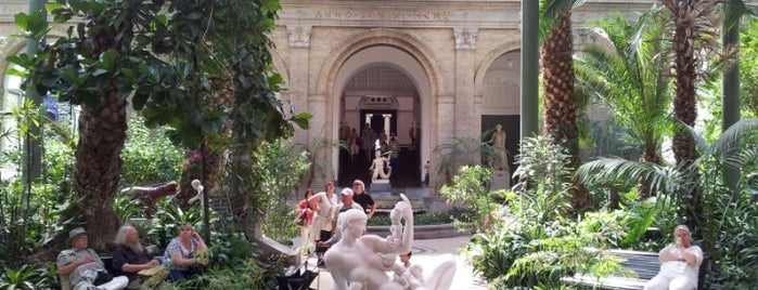 Ny Carlsberg Glyptotek is one of Denmark • Copenhagen.