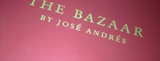The Bazaar by José Andrés is one of EAT Miami.