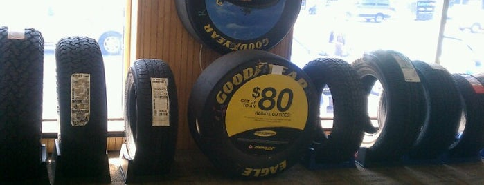 The Tire Mart is one of Lugares favoritos de Jason.