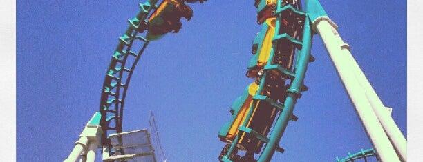 Six Flags Darien Lake is one of NYC-Toronto Road Trip.