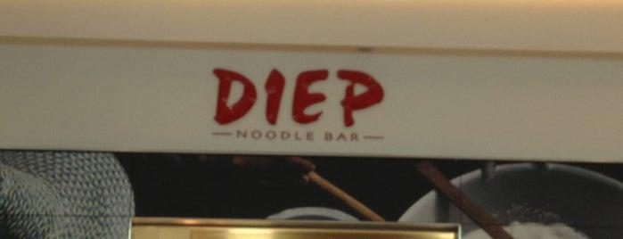 Diep Noodle Bar is one of Essen 8.