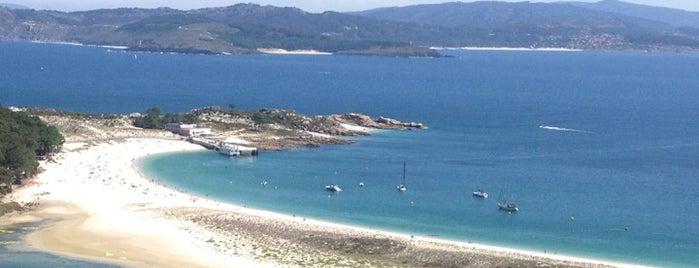 Praia de Rodas is one of Playas de España: Galicia.