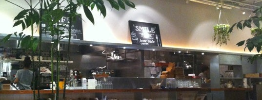 COOK COOP CAFE is one of free Wi-Fi in 新宿区.