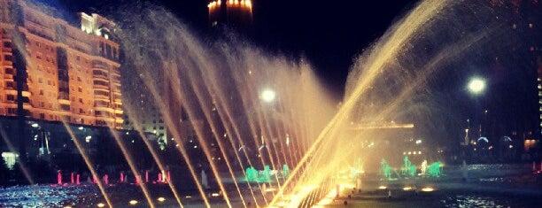 Ән салатын субұрқақтар / Поющие фонтаны is one of Astana Great Outdoors.