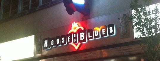 House of Blues is one of Cle.