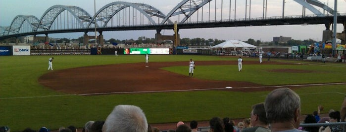 Modern Woodmen Park is one of Iowa.