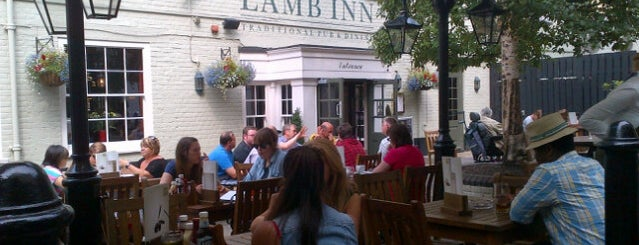 The Lamb Inn is one of Locais curtidos por Vishan.