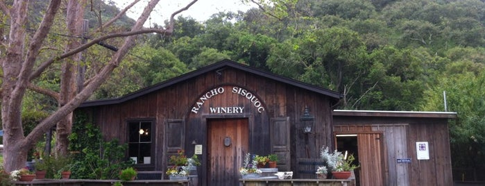 Rancho Sisquoc Winery is one of WINE BARS.