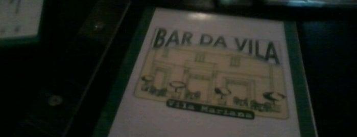 Bar da Vila is one of Lugares para ficar bebado em São Paulo.