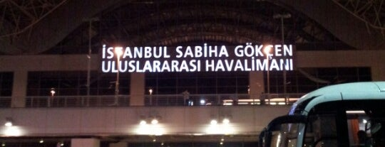 Aeroporto Internazionale Istanbul Sabiha Gökçen (SAW) is one of Top50 Reasons to Live on Asian Side of Istanbul.