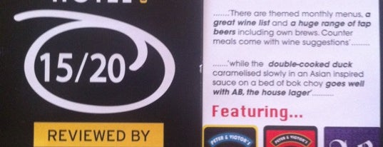 AB HOTEL (Craft CIDERs & Craft BEERs + Beer Garden) is one of Sydney's Best Pubs.