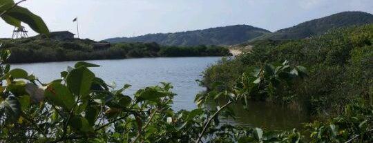 Lagoa do Meio is one of Rosa e Garopaba.
