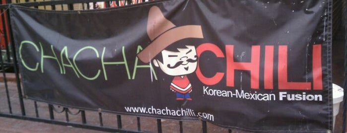 Cha Cha Chili is one of Around the World - Noms.