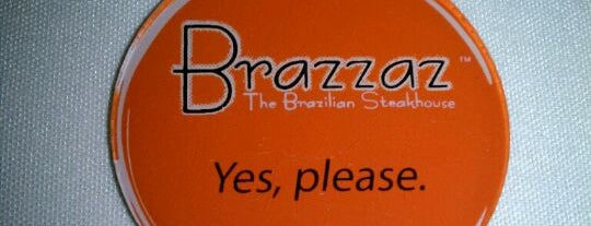 Brazzaz Brazilian Steakhouse is one of #visitUS Chicago Tourist Must Check-into.