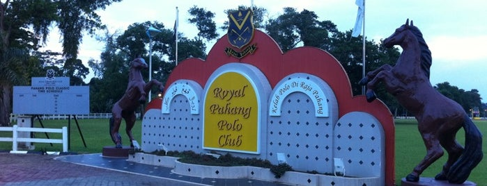 Royal Pahang Polo Club, Pekan, Pahang is one of Attraction Places to Visit.