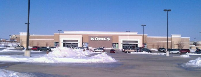 Kohl's is one of Stuff To Do.