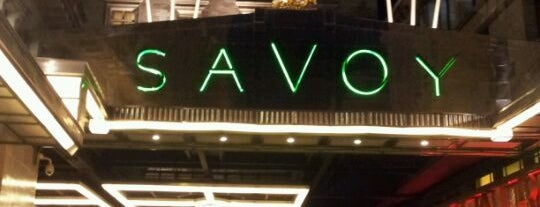 The Savoy Grill is one of London date places.