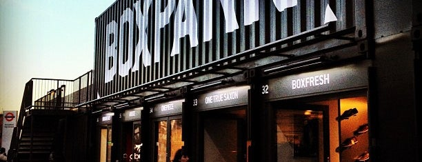 BOXPARK Shoreditch is one of Guia del viajero no viajado - Londres.