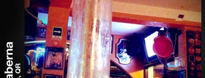 La Taberna is one of jars+beers=drops.