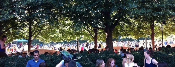 Jazz in the Garden is one of Summer in DC.