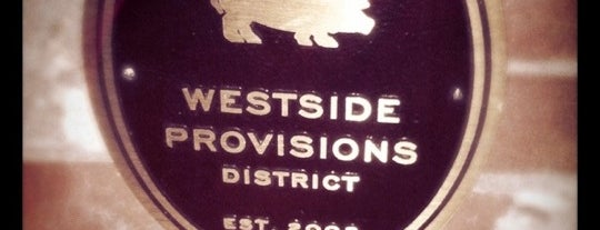 Westside Provisions District is one of StorefrontSticker City Guides: Atlanta.