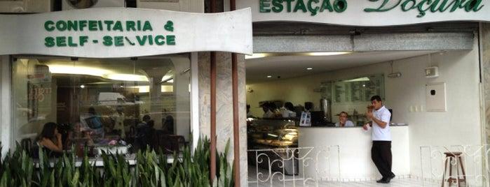 Estação Doçura is one of Rodrigo'nun Beğendiği Mekanlar.