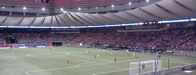 BC Place is one of Out & About in Vancouver B.C..